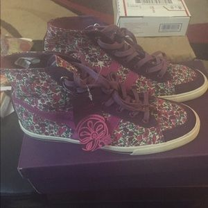 Gola Flora high top sneaker